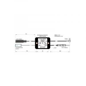 Aktiver Antennsplitter UKW/DAB+ (DIN/DIN)