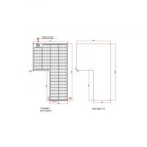 PCS Monoflex Solarpanel Set 230 W