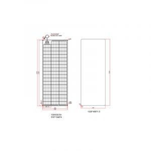 PCS Monoflex Solarpanel 130 W